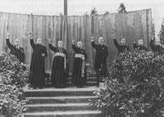 katolickie 'Heil Hitler'