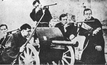 walczący zakonnicy hiszpańscy