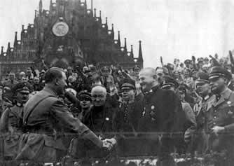 Hitler, biskup i przeor