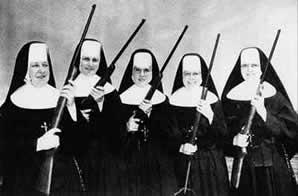 Uzbrojone zakonnice hiszpańskie
